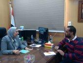 إيمان صبرى، مديرة الإدارة العامة للتعليم الخاص بوزارة التربية والتعليم والتعليم الفنى