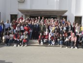 مميش ووفد جامعة مصر الدولية