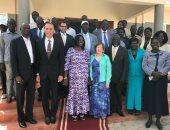 سفير مصر فى جنوب السودان يشرف على نقل القافلة الطبية