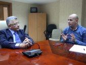 الدكتور أشرف إسماعيل رئيس هيئة الاعتماد والرقابة الصحية