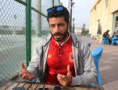 شريف عبد الفضيل مدافع الأهلى السابق