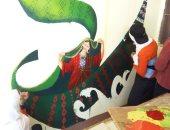 تعليم طلاب الوادى الجديد الرسم وتجميل المدارس