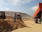 الإنتهاء من 93% من سد حماية منطقة الجلاوية بأخميم