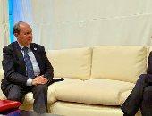 عمرو نصار وزير التجارة خلال المباحثات