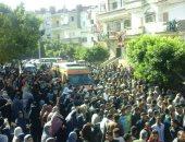 جنازة الشهيد مصطفى زيدان بكفر الدوار