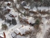 تعطل حركة النقل بسبب الثلوج