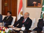 وزير الشباب والرياضة بحزب الوفد