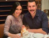 باسل خياط و زوجته