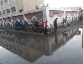 مياه الصرف الصحى تحاصر مدرسة ـ أرشيفية