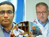 الدكتور حازم خميس مدير مستشفى وادى النيل والدكتور أحمد أشرف المدير التنفيذى لمركز القلب الرياضى