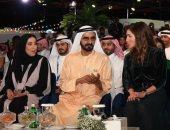 الملكة رانيا والشيخ محمد بن راشد