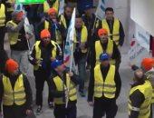 عمال السكك الحديدية فى ألمانيا