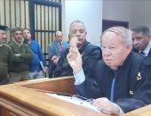 الدكتور أحمد فتحى سرور يترافع فى قضية بمحكمة جنايات دمنهور