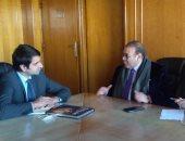 الدكتور حسن راتب يجتمع مع بعثة البنك الدولى