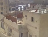 مخالفات بناء على أسطح العقارات فى حي الفرسان