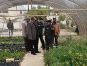 """رئيس """"بحوث الصحراء"""" يلتقى محافظ مطروح لبحث مشروع """"الإيفاد"""" للتنمية"""