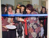 وزيرة الثقافة تفتتح معرض روان جاسر