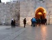 قوات الاحتلال تغلق أبواب البلدة القديمة فى القدس