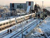 تصادم قطارين بتركيا