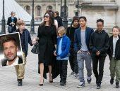 براد بيت وأنجلينا جولى وأبنائهم الـ6