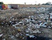 أكوام القمامة بالمنطقة التاسعة بمدينة نصر