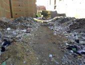 القمامة بقطعة أرض فضاء بالمريوطية هرم