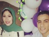 محمد الشامى وعروسته