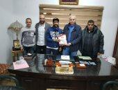 علاء أسامة بعد التوقيع للإنتاج الحربى