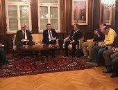 السفير عمر عامر سفير مصر فى النمسا