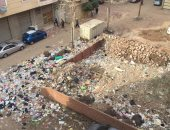انتشار القمامة وسط الكتلة السكنية فى شارع السلطان مراد بطنطا