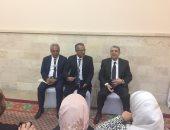 الدكتور محمد شاكر وزير الكهرباء والطاقة المتجددة أثناء المؤتمر