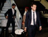 وصول ريال مدريد الى الامارات