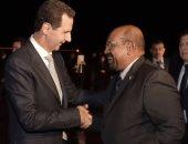 الرئيس عمر البشير والرئيس بشار الاسد