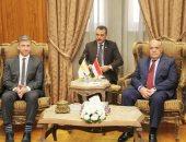 الفريق عبد المنعم التراس يلتقى سفير قبرص بالقاهرة