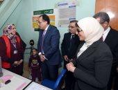 رئيس الوزراء ووزيرة الصحة يتفقدان مركز طب الأسرة فى الدراسة