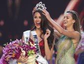 الفلبينية كاتريونا جراى الفائزة بلقب ملكة جمال الكون