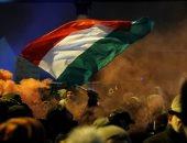 احتجاجات فى المجر ضد قانون العمل الجديد