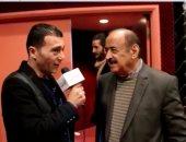 النجم السوري الكبير أسعد فضة مع الزميل جمال عبد الناصر