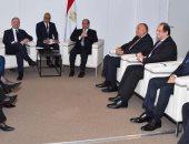 الرئيس السيسى يلتقى رئيس وزراء مالطا