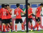 جانب من مباراة سابقة لمنتخب كوريا الجنوبية