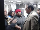 النائب إيهاب الخولى يتابع حادث تسريب الغاز فى إمبابة