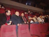 خالد الجندى ورمضان عبد المعز من داخل السينما