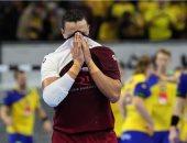 حزن لاعب قطر