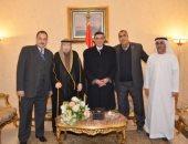 قيادات الاوقاف يستقبلون ضيوف مؤتمر القاهرة لبناء الشخصية الوطنية