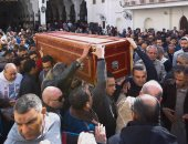 جنازة الفنان الراحل سعيد عبد الغنى