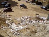 مخلفات ذبح الطيور فى حدائق الأهرام