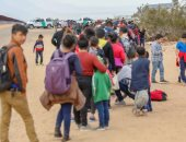 مهاجرين على حدود أمريكا