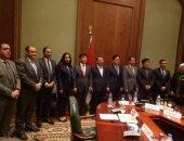 وفد جمعية الصداقة البرلمانية الكورية المصرية برفقة سفير جمهورية كوريا الجنوبية فى مصر