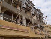 إزالة التعديات على المنطقة الاثرية بالاهرامات