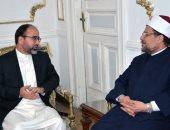 وزير الأوقاف المصرى يستقبل نظيره الأفغانى